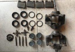 mercedes-w124-rear-calipers-restoration